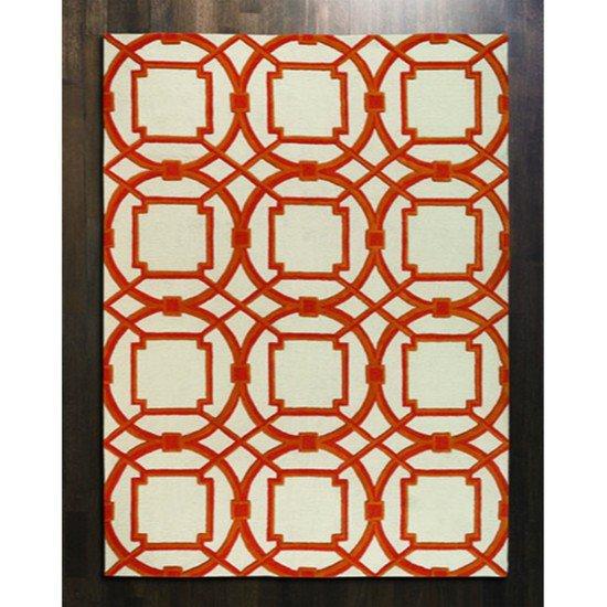 9.91362  arabesque rug coral 9  x 12