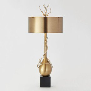 Twig Bulb Lamp-Brass
