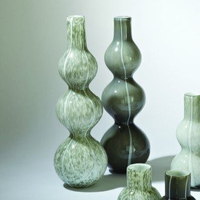 Three Bubble Vase-Light Grey