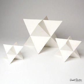 S/3 Star Objet-Matte White