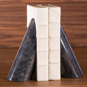 Pylon Marble Bookends