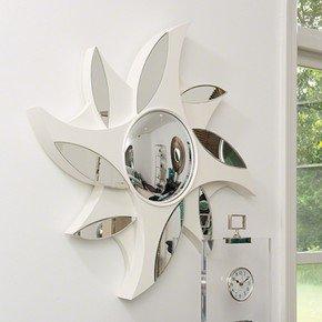 Pinwheel Mirror-Ivory