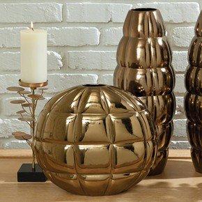 Pillow Pocket Vase-Bronze