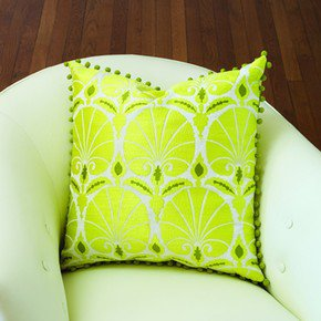 Nuevo Fan Pillow-Green