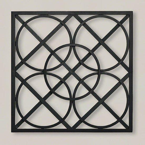 9.90600  layered circles wall panel