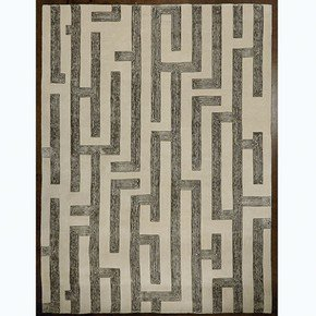 Labyrinth Rug-Grey-9' X 12'