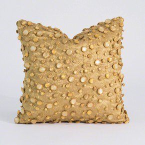 Jewel Pillow-Gold