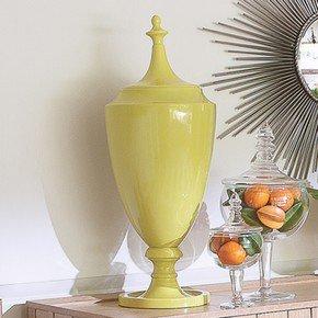 Grande Urn W/Lid-Green