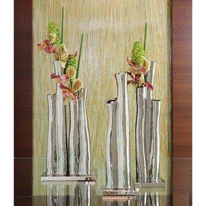 Great Barrier Vase-Silver-Sm