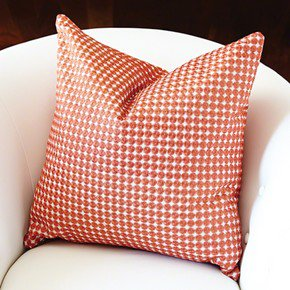 Daisy Pillow-Coral-Cover