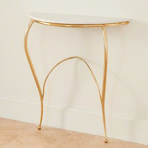 Diminutive Console-Brass