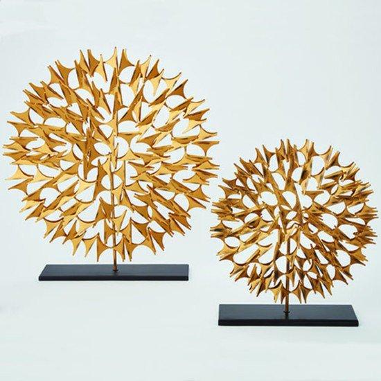 9.92008  cosmos sculpture gold sm