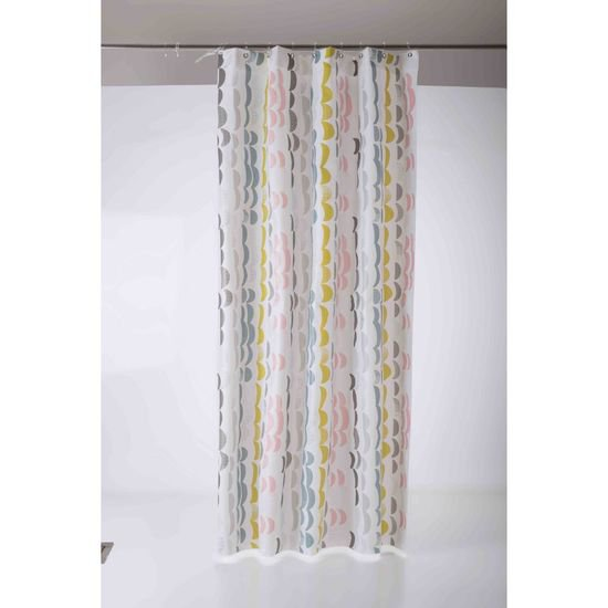 Bliss shower curtain mood