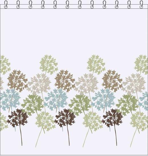 Garden imagem individual cortina