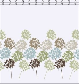 Garden Shower Curtain 180X200 Cm