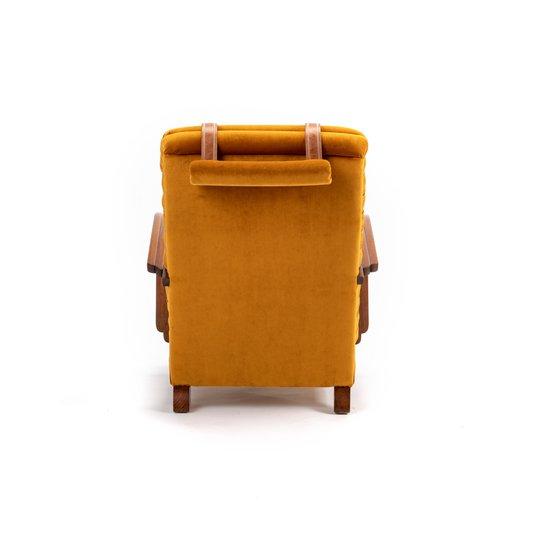 The streamline moderne deco club lounge chairs.  rhubarbchairs treniq 1 1558435356401