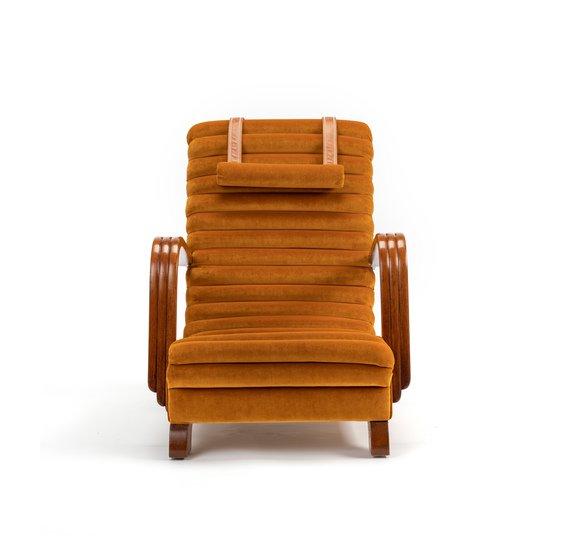 The streamline moderne deco club lounge chairs.  rhubarbchairs treniq 1 1558435369636