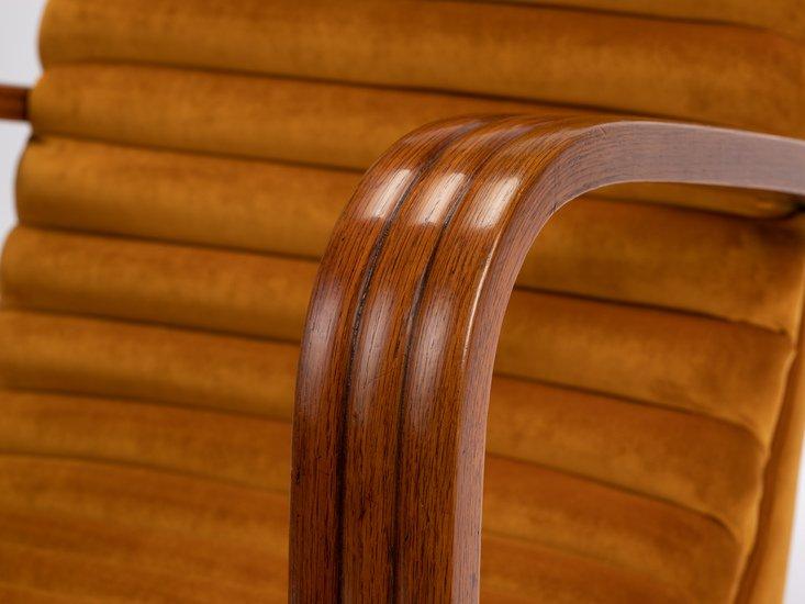 The streamline moderne deco club lounge chairs.  rhubarbchairs treniq 1 1558435376775