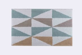 Hexagonal Bath Rug 60X100Cm
