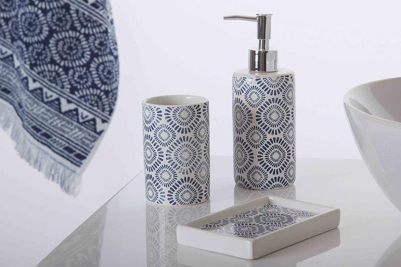 Indigo bath accessories escolhida