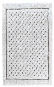 Linen Waffle Bath Rug 60X100Cm