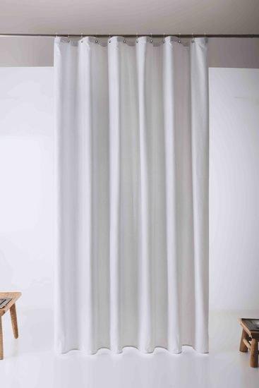 Luna shower curtain mood