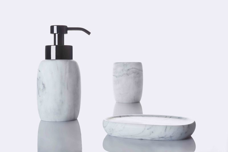 Marble silver mood