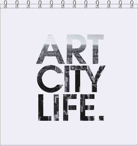 Art City Life Shower Curtain 180X200Cm