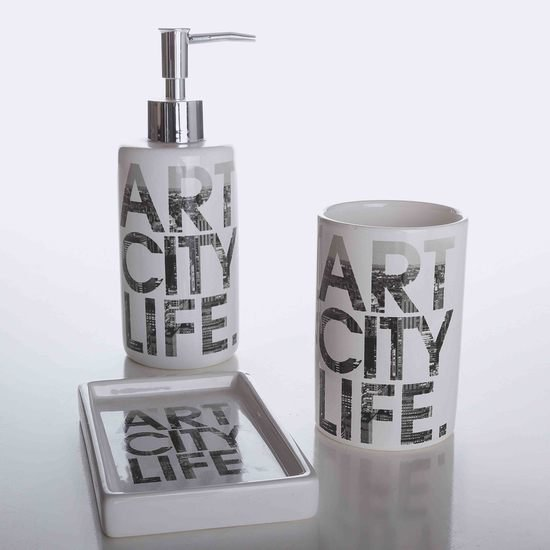 Art city life bath accessories