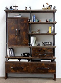 Smith-Reclaimed-Scaffold-Wood-And-Patinated-Steel-Fronted-Cupboard-With-Dar_Urban-Grain_Treniq_0