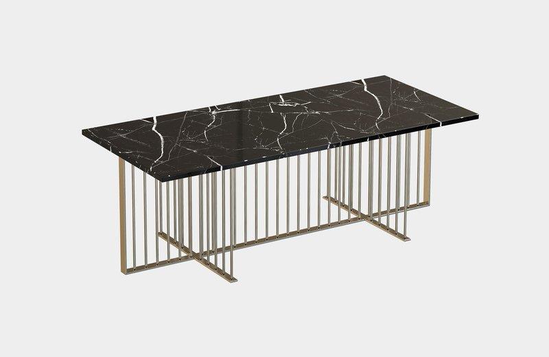 Meister marble rectangular center coffee table miist treniq 6 1558626372164