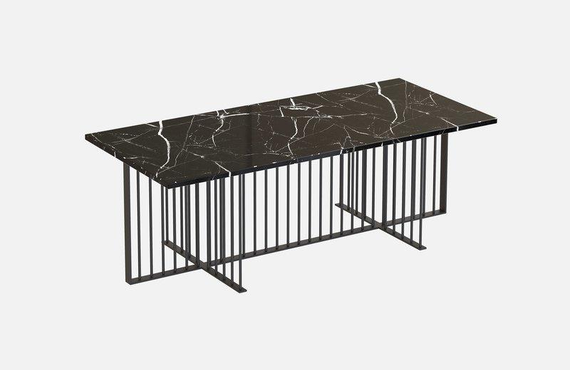 Meister marble rectangular center coffee table miist treniq 6 1558626372165
