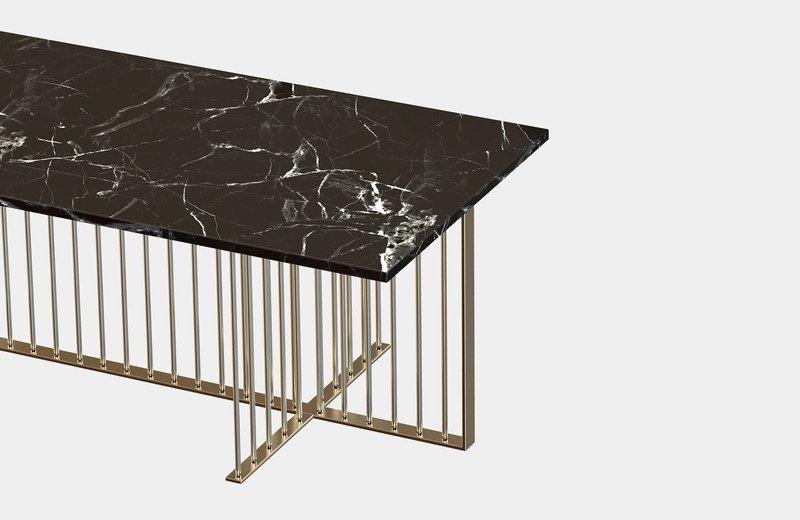 Meister marble rectangular center coffee table miist treniq 6 1558626372167