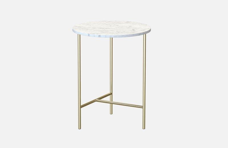 Midt marble side coffee table  miist treniq 3 1558691400132