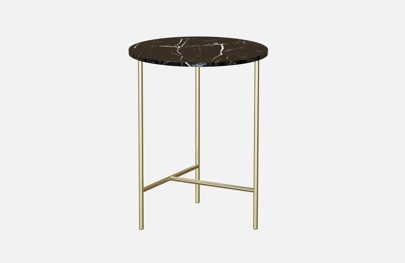 Midt marble side coffee table  miist treniq 3 1558691400130