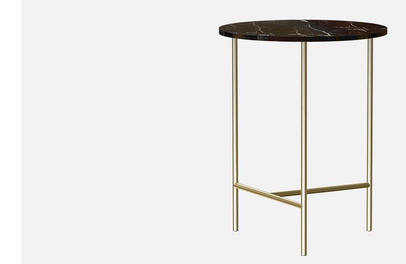 Midt marble side coffee table  miist treniq 3 1558691400134