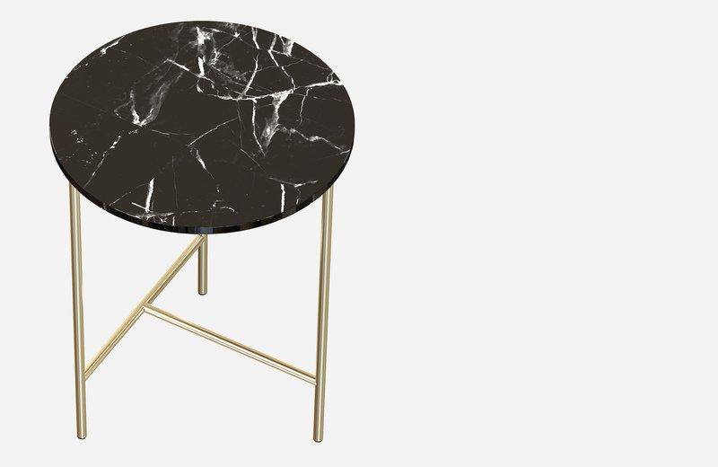 Midt marble side coffee table  miist treniq 3 1558691400135