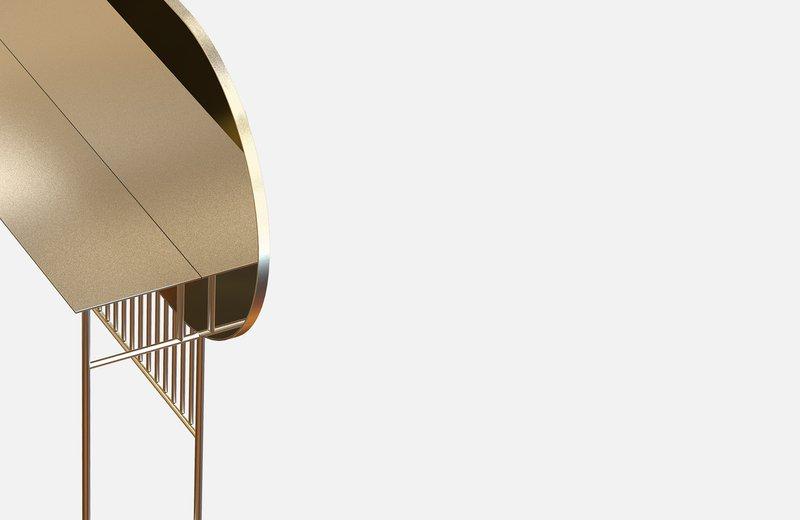 Naive mirror console in brass miist treniq 1 1558779019814