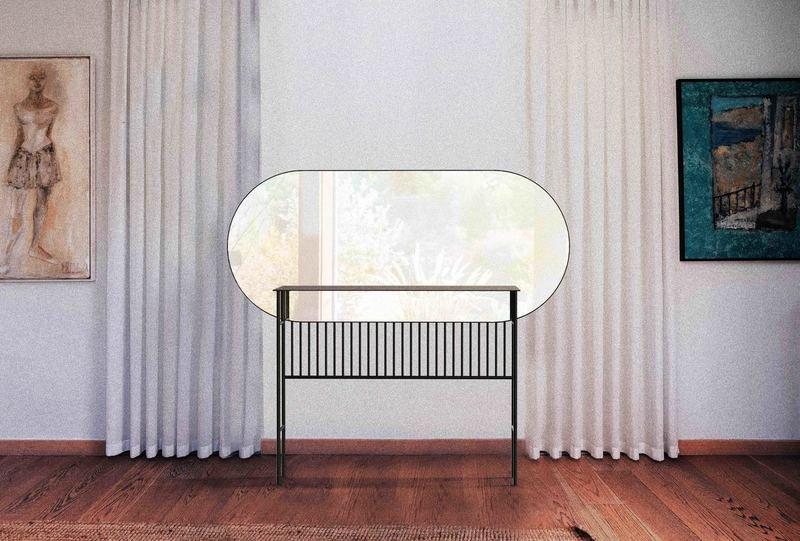 Naive mirror console in brass miist treniq 1 1558779019816