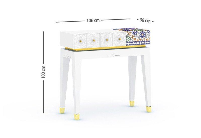 El baia console table alma de luce treniq 7