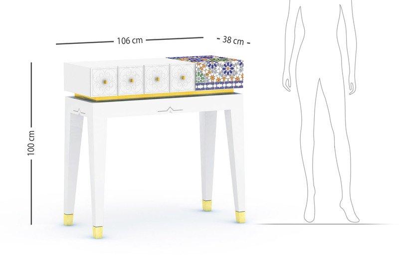 El baia console table alma de luce treniq 8