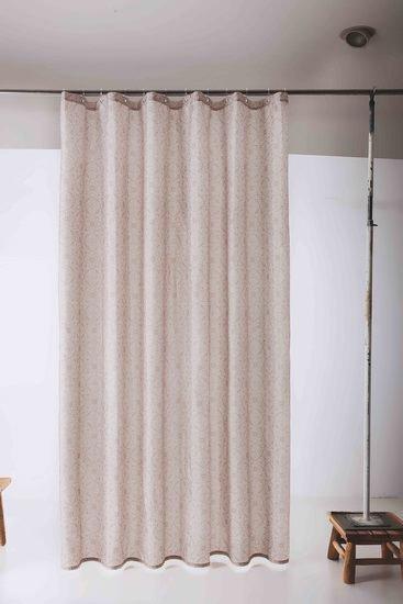 Tile shower curtain mood