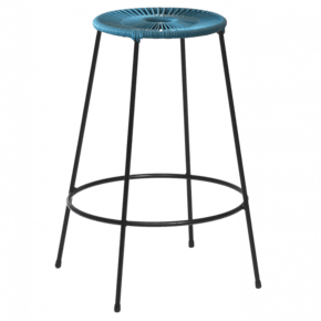 Acapulco Bar Stool Medium Blue