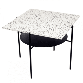 Confetti - Coffee Table Black, White