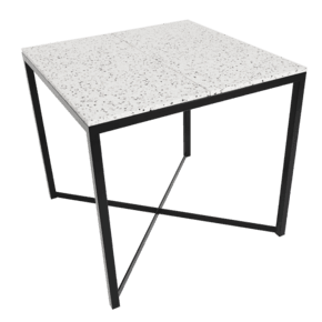 Confetti - Dining Table Black, White