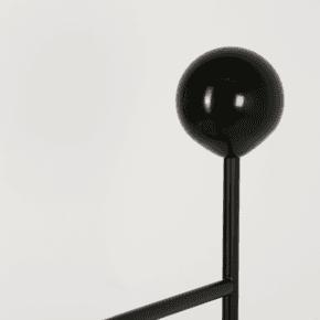 Gestus Valet - Globe Knob Black