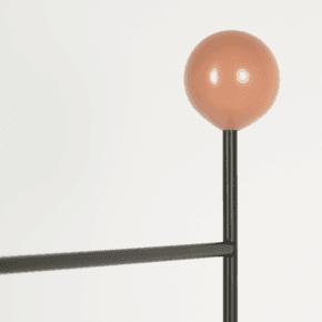 Gestus Valet - Globe Knob Orange
