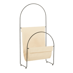 Nouvelle - Magazine Holder Black