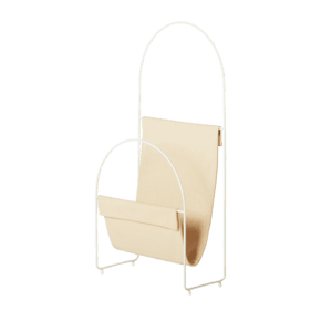 Nouvelle - Magazine Holder White