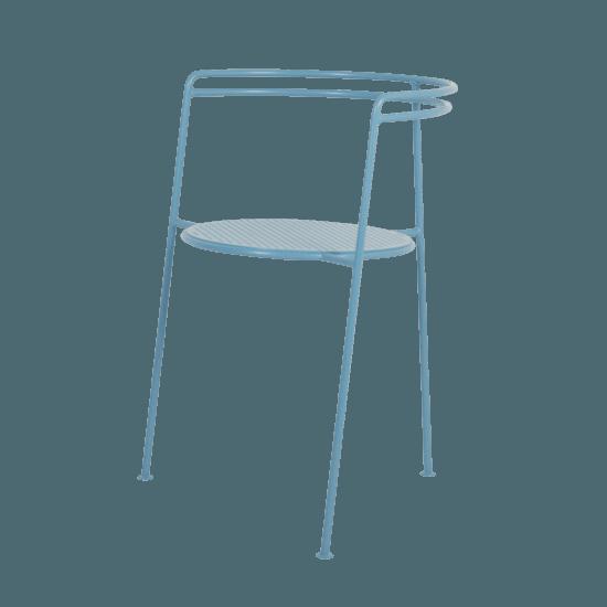 Point chair  pigion blue